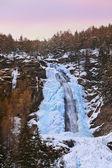 cascata stuibenfall a umhausen - tirol austria