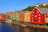 Photo Cityscape of Trondheim, Norway