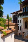Stará ulice v antalya, Turecko
