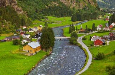 Village in Flam - Norway