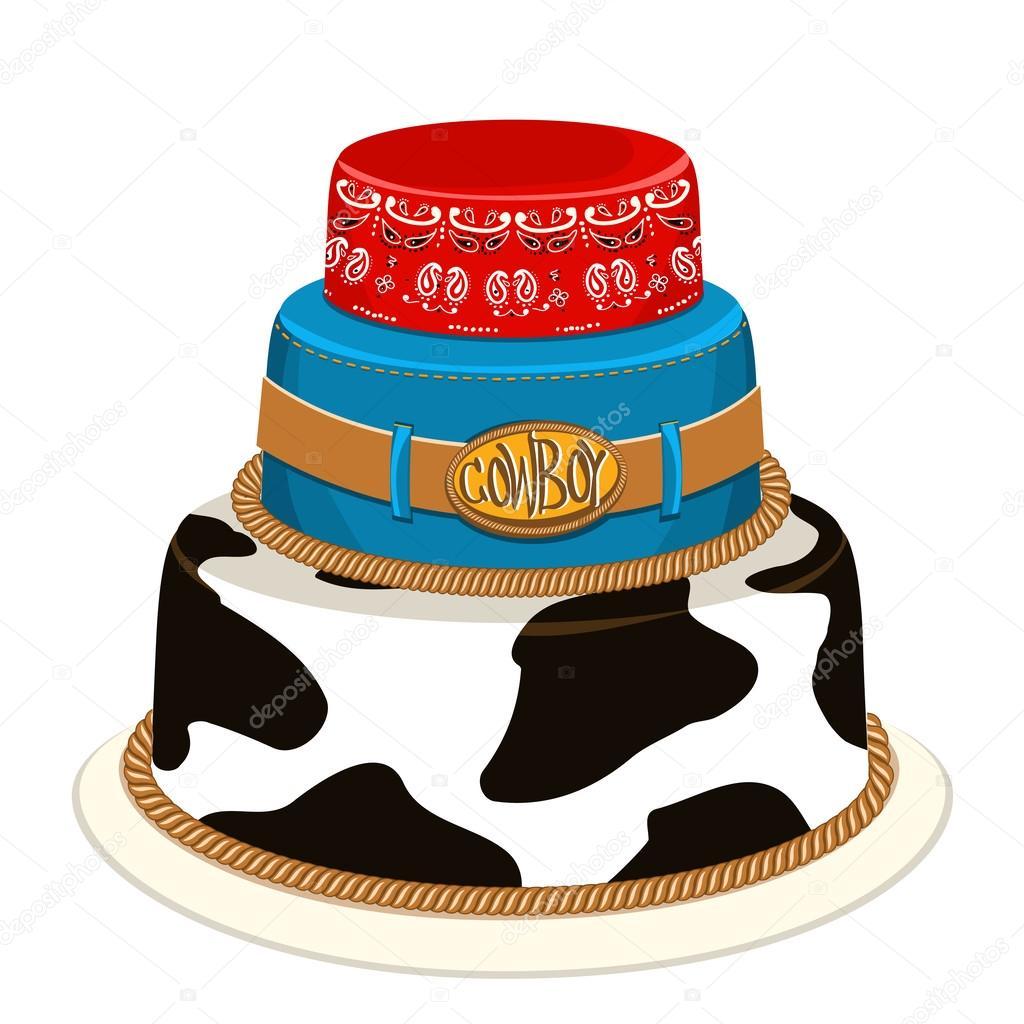 Kuchen fur cowboy party appetitlich foto blog f r sie - Kuchendeko foto ...