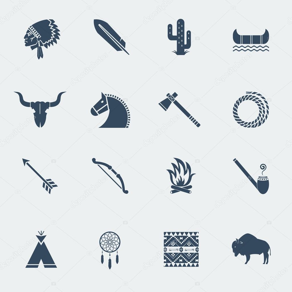 Indianer Symbole