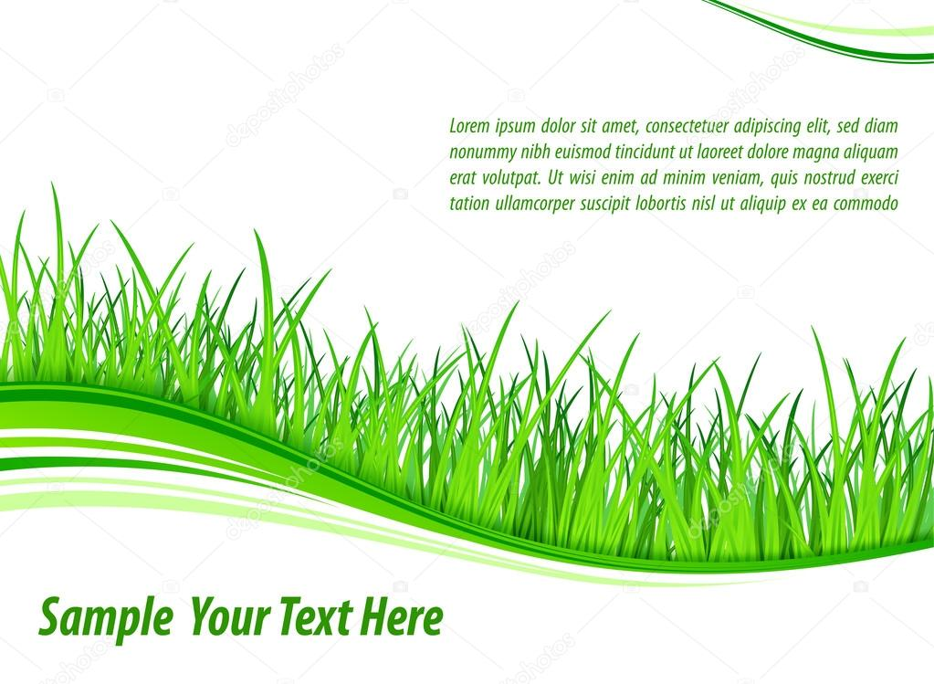 Grass wave background