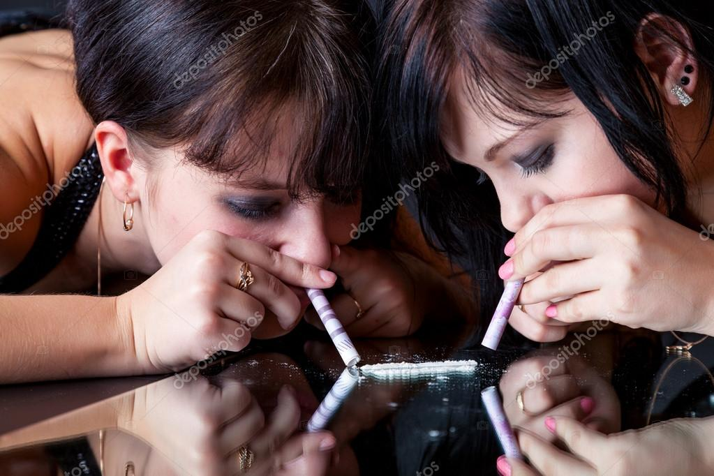 Virgin porn girl doing cocaine
