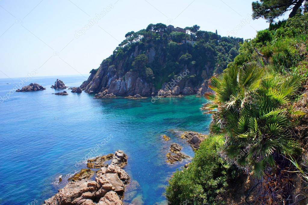 Costa Brava Landscape Blanes Catalonia Spain Stock Photo Marina99 16666093