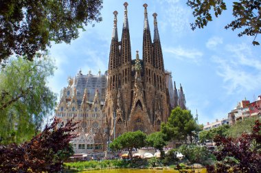 La Sagrada Familia in Barcelona, Spain