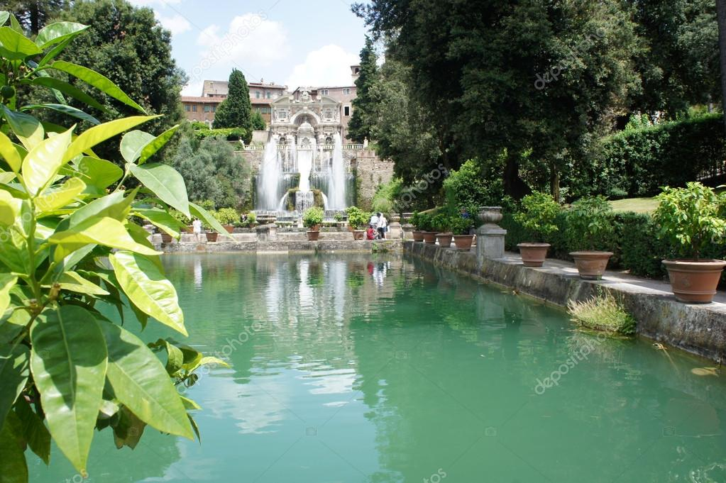 Fountains of Villa d Este, Tivoli, Italy, near Rome