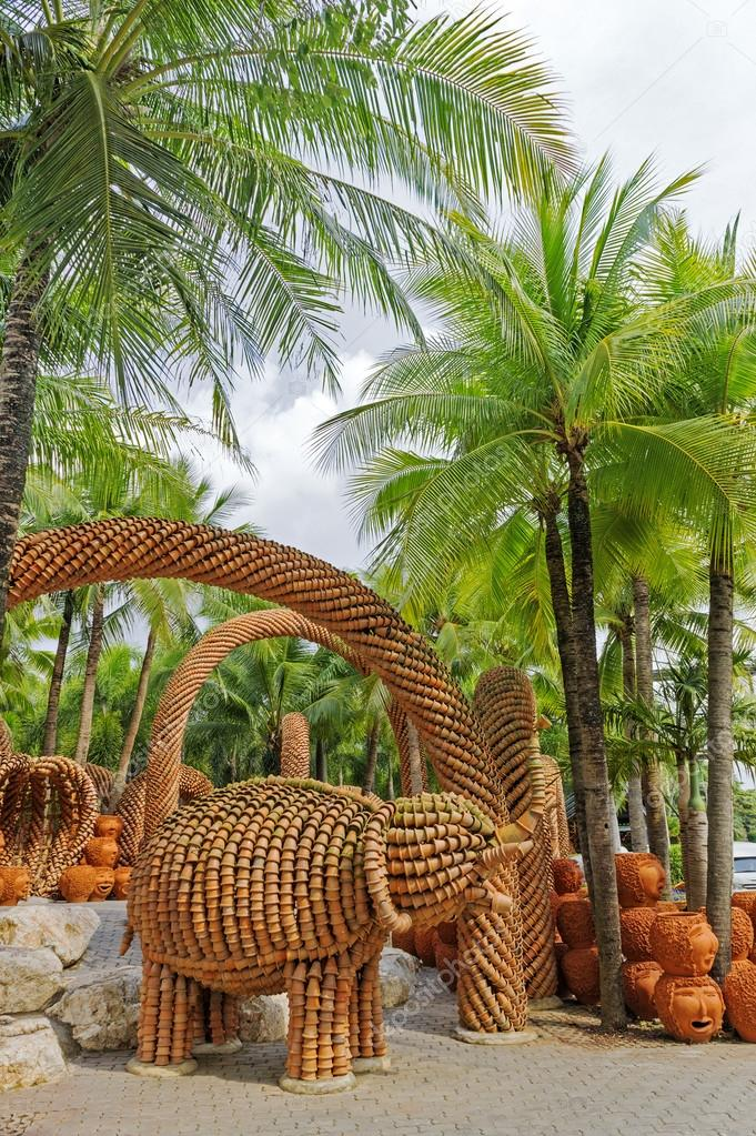 Nong Nooch Tropical Garden In Pattaya, Thailand