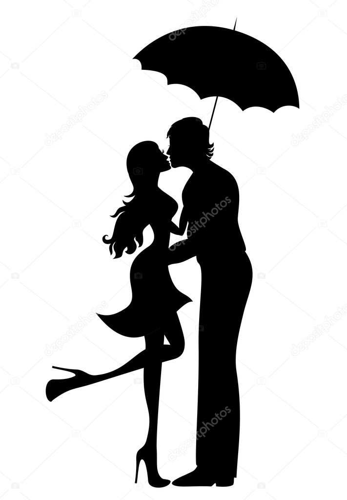 couple silhouette stock vectors royalty free couple silhouette