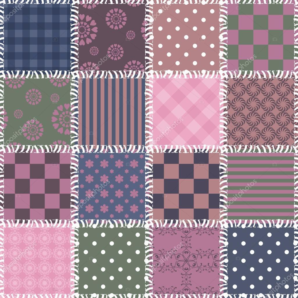 fond de patchwork avec des mod les diff rents image vectorielle kle555 27281033. Black Bedroom Furniture Sets. Home Design Ideas