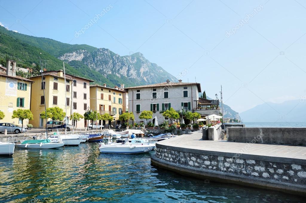 Fishing boats in Gargnano