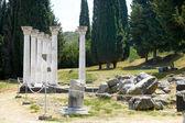 historische Ruinen von Asclepieion auf kos