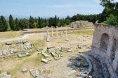 Fotografie historische Ruinen von Asclepieion auf kos
