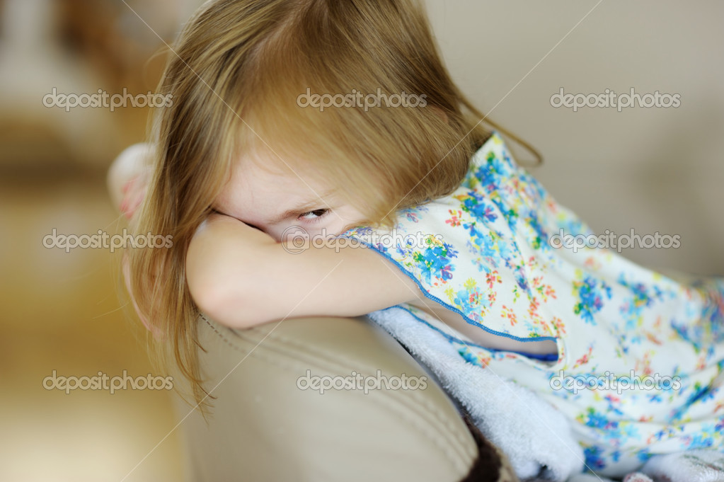 фото злой девочки