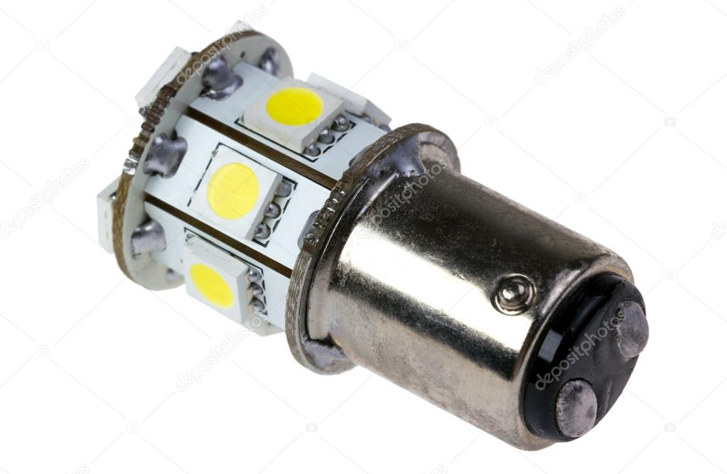 Auto Led Lampen : Led lampe für auto u stockfoto denisds