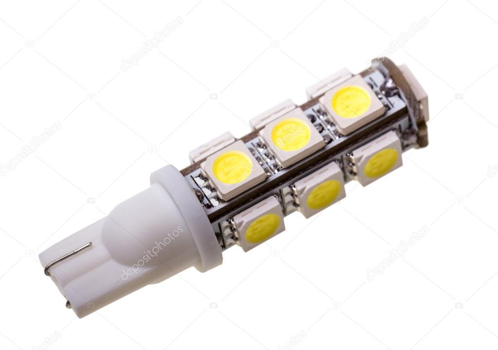 Led Lampen Auto : Led lampe für auto mit leds u stockfoto denisds