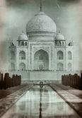 Fényképek Taj mahal, a régi stílusú film fotó