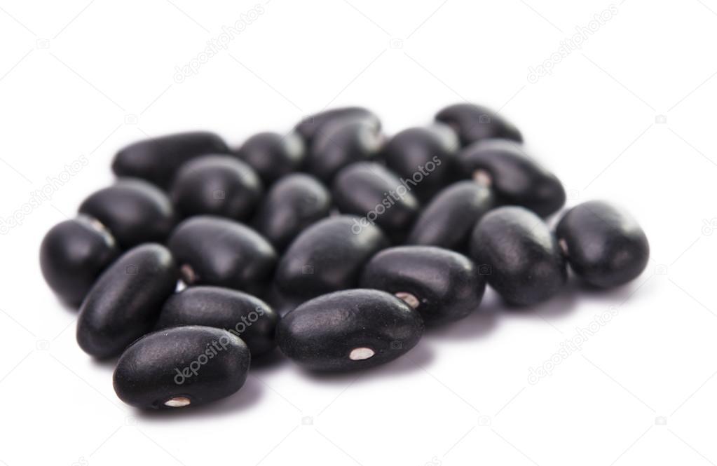 små svarta bönor