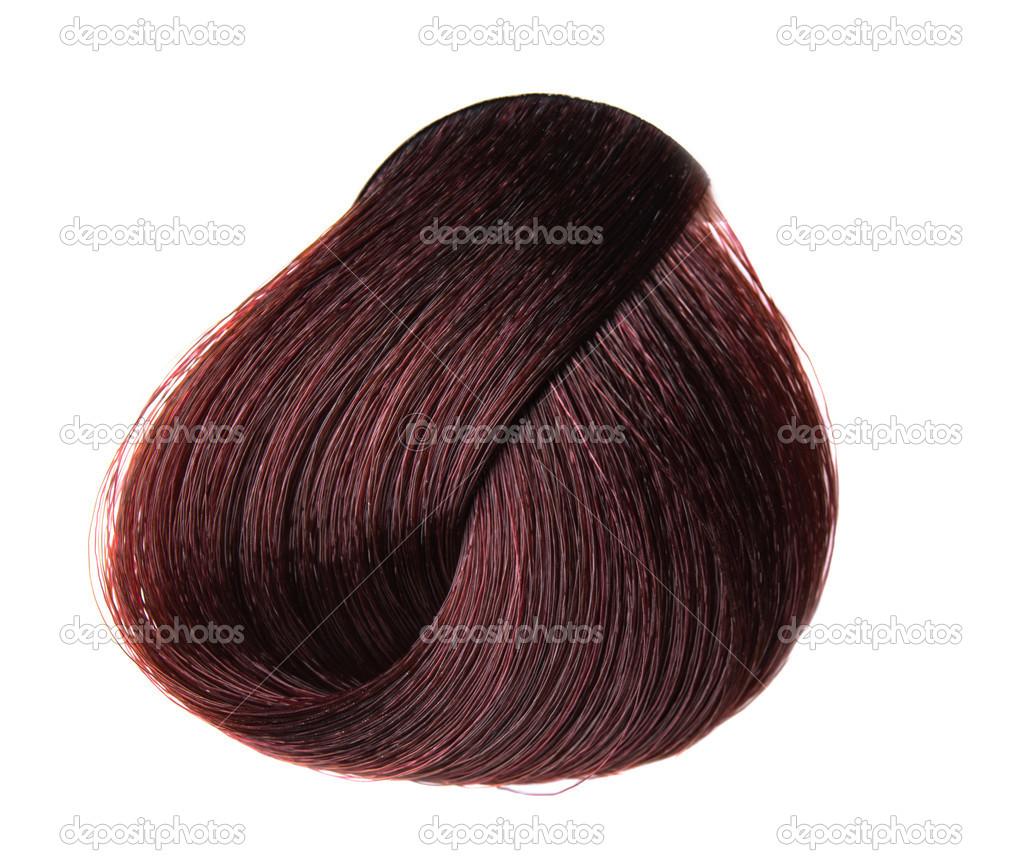Lock Of Hair Color Stock Photo Ksena32 19769443
