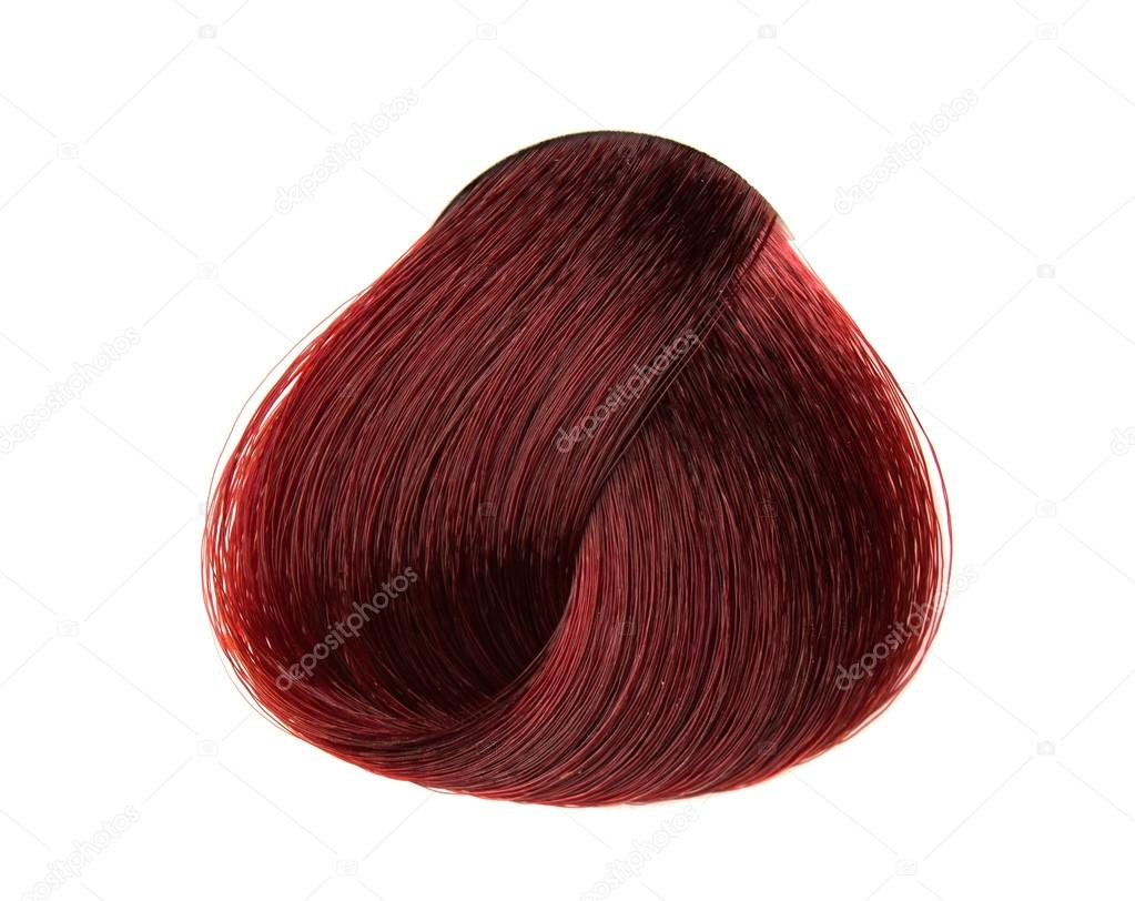 Lock Of Hair Color Stock Photo Ksena32 19769897
