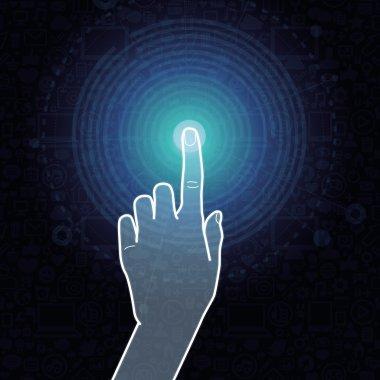 Vector touchscreen concept