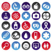 Photo Vector medical icons and signs