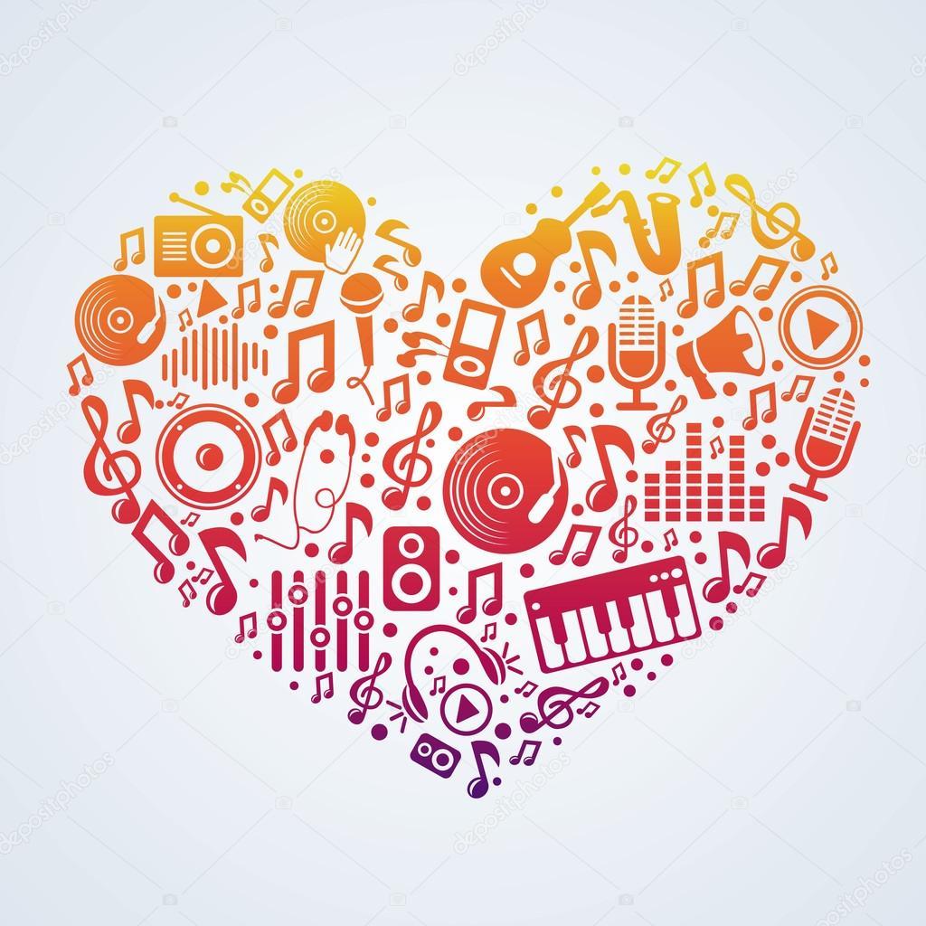 Vector Music Concept Stock Vector Venimo 22931124