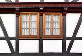 Fenster des alten Hauses