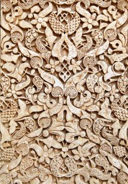Old moorish stone carving