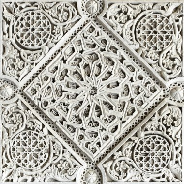 Moorish stone carving