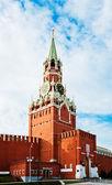 Spasitel (spasskaya) věž z moskevského Kremlu, Rusko.