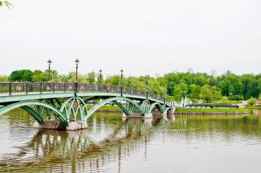Green Bridge in Tsaritsino Park, Moscow