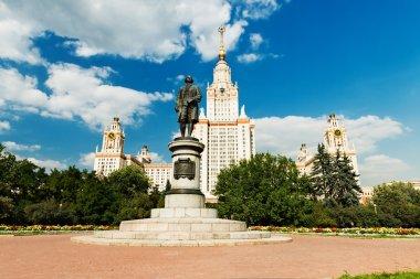 Lomonosov monument MSU