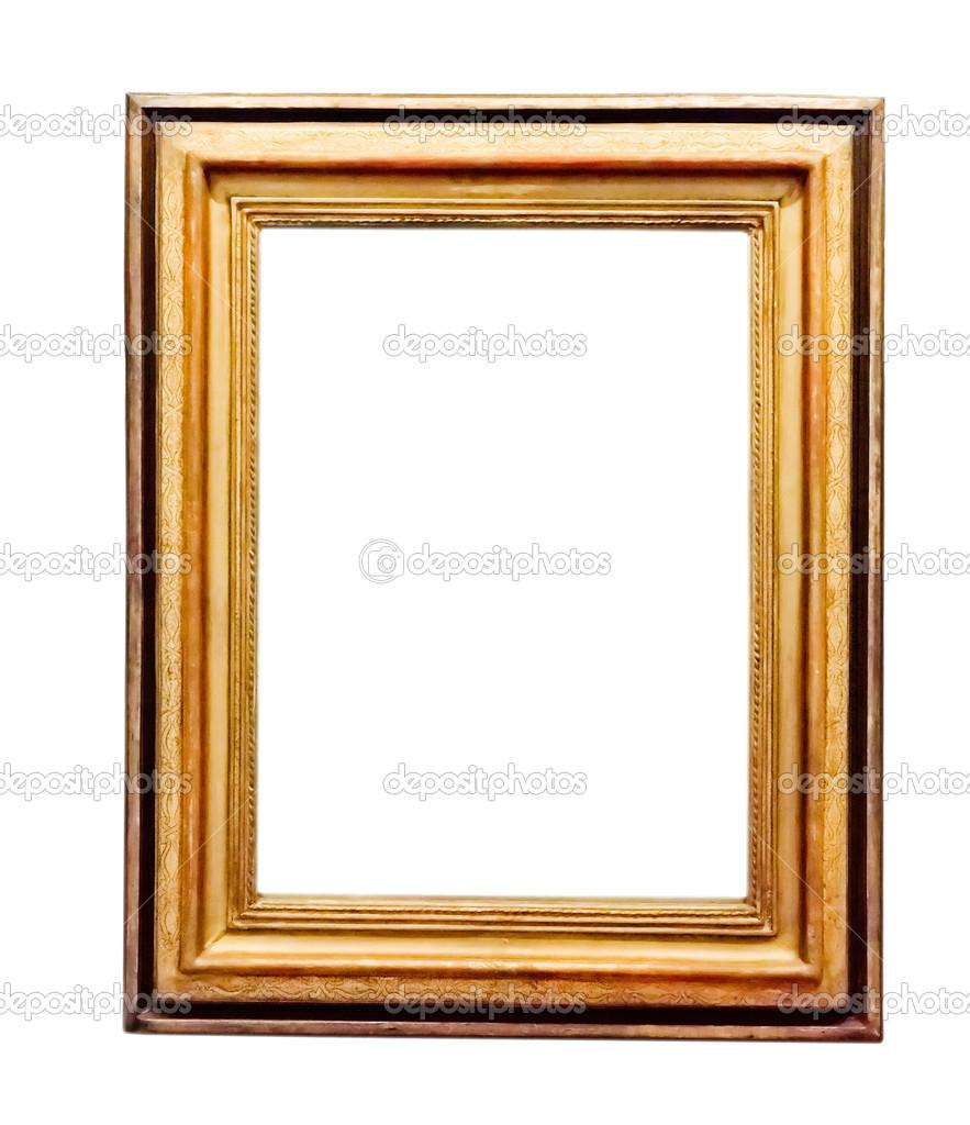 Vintage Gold Frame Stock Photo Valphoto 48295547