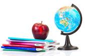 školák a student studuje příslušenství