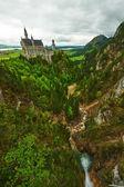 Fotografie Das Schloss Neuschwanstein
