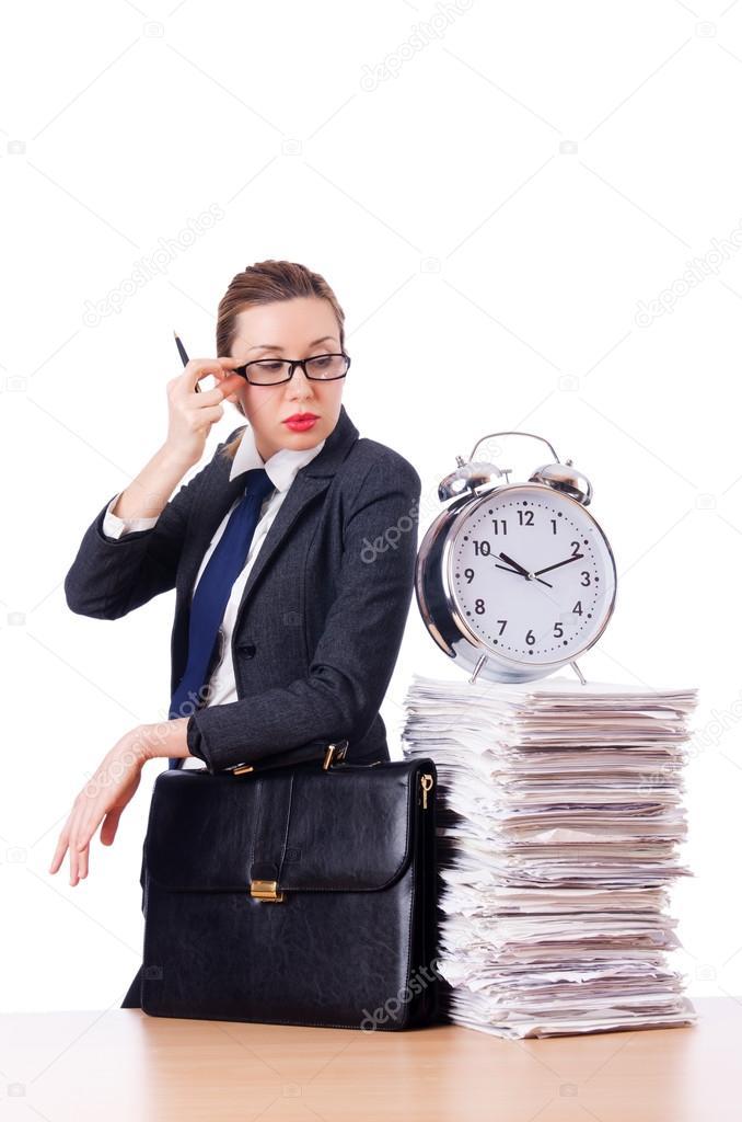 Фото бизнес леди с дипломатом транссексуалы