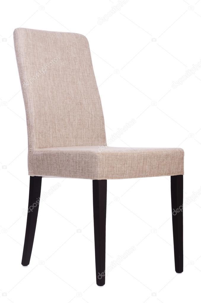 eetkamer stoel geïsoleerd op wit — Stockfoto © Elnur_ #30467649