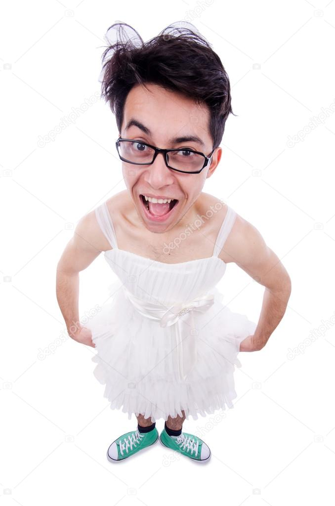 Los hombres vestidos de mujer
