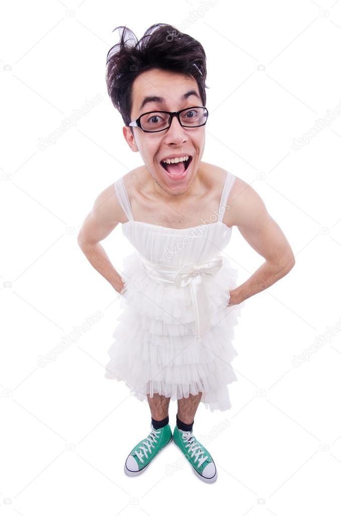Imagenes graciosas de hombres disfrazados de mujer
