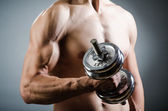 Photo Muscular  bodybuilder