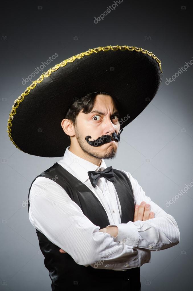 Mexikaner aus einem schwarzen Kerl