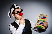 az abacus a vicces bohóc