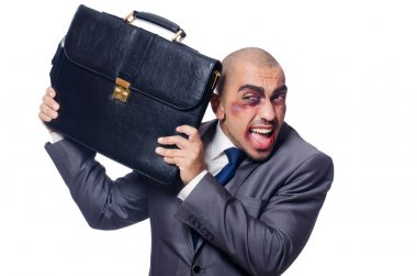 Badly beaten businessman