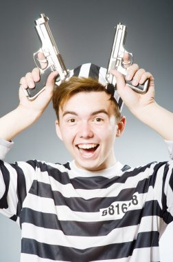 Funny prison inmate