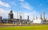 Fotografie Erdöl-Raffinerie