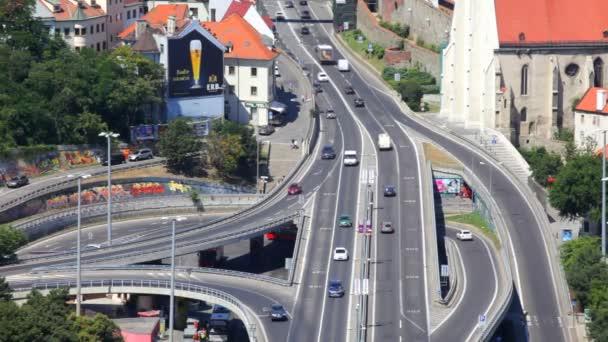 auto junction a den dopravní Bratislava, Slovensko