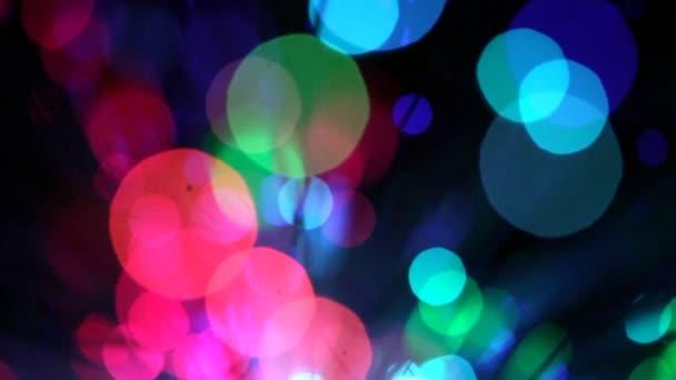 rozmazané světla, pohybu pozadí