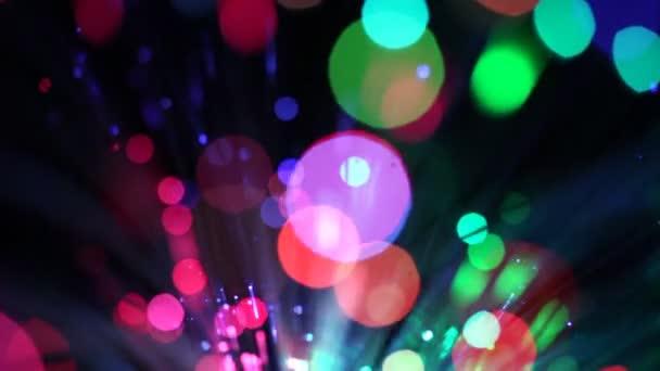 pohyb pozadí, rozmazané světla