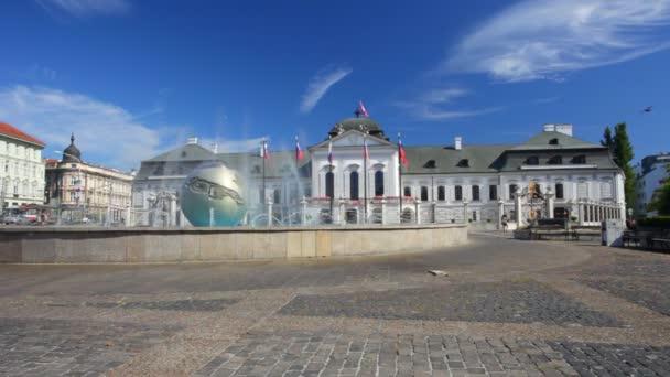 prezidentský palác. Bratislava.slovakiya